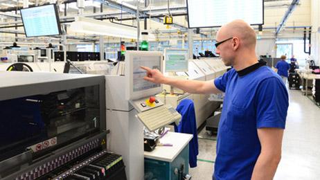 Automatisierung der Steuerung für Produktionsprozesse